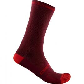 Castelli Superleggera T 18 Sock Bordeaux 2021