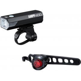 Cateye AMPP 400 / Orb Rechargable Light Set