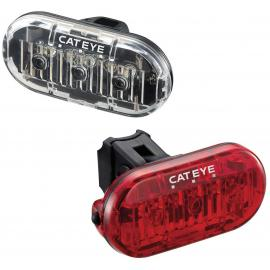 Cateye Omni 3 Front and Rear Lightset