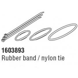 Cateye Strada Slim Computer Rubber Band & Zip Tie Fitting Kit