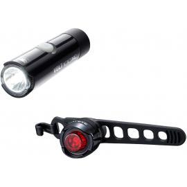 Cateye Volt 100XC / Orb Rechargable Light Set