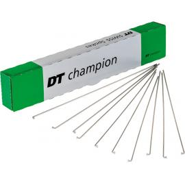 DT Champion 14g Spoke Silver