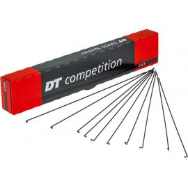 DT Swiss Competition Black Spokes 14/15g = 2/1.8mm 298mm