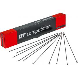 DT Swiss Competition Straight Pull 14/15g Spokes 2/1.8mm Black
