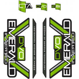DVO Emerald Decal Set