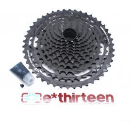 E-Thirteen TRS Plus Cassette 9-50T 12 Speed Black