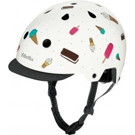 Electra Lifestyle Lux Soft Serve Graphic Helmet White Teal