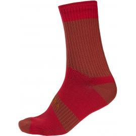 Endura Hummvee Waterproof Socks II Rust Red