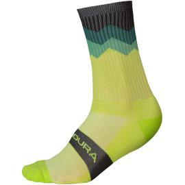 Endura Jagged Sock Lime Green