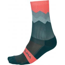 Endura Jagged Sock SpruceGreen