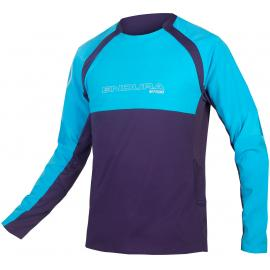 Endura MT500 Burner L/S Jersey II Electric Blue