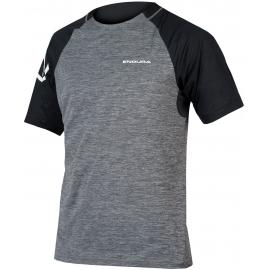 Endura SingleTrack S/S Jersey Pewter Grey