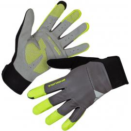 Endura Windchill Glove Hi Viz Yellow