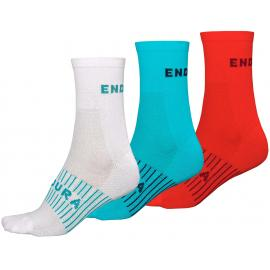 Endura Womens Coolmax Race Sock (Triple Pack)