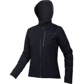 Endura Womens Hummvee Waterproof Hooded Jacket Black