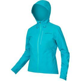 Endura Womens Hummvee Waterproof Hooded Jacket Pacific Blue