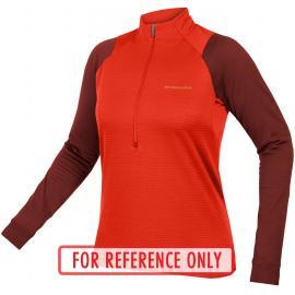 Endura Womens Singletrack Fleece Paprika 2021