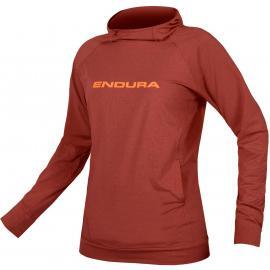 Endura Womens SingleTrack Hoodie Cocoa