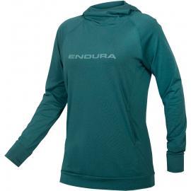 Endura Womens SingleTrack Hoodie SpruceGreen
