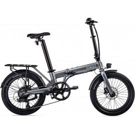 Eovolt Confort 20in Lightweight Folding E-Bike Grey 2021