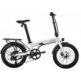 Eovolt Confort 20in Lightweight Folding E-Bike White 2021