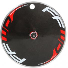 FFWD Disc Wheel TT/Tri Alloy Clincher Red