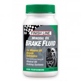 Finish Line Mineral Oil Brake Fluid 4oz / 120ml