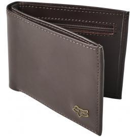 Fox Bifold Leather Wallet Brown 2020