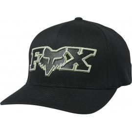 Fox Ellipsoid Flexfit Hat Black Green