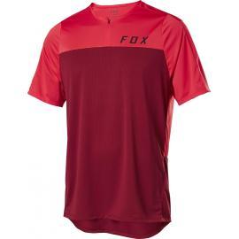 Fox Flexair Zip SS Jersey Chili
