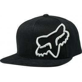Fox Headers Snapback Hat Black