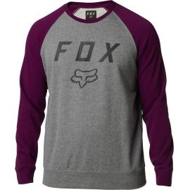 Fox Legacy Crew Fleece Purple