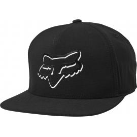 Fox Shaded Snapback Hat Black