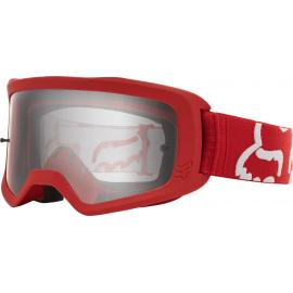 Fox Youth Main Race Goggle Red