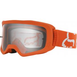 Fox Yth Main II Race Goggle Flo Orange 2020