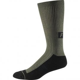 Fox 8in Trail Cushion Sock Olive Green 2020