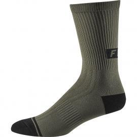 Fox 8in Trail Sock Olive Green 2020