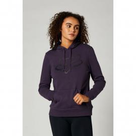 Fox Boundary Pullover Fleece Dark Purple 2021