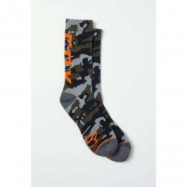 Fox Camo Cushioned Crew Sock Camo 2021