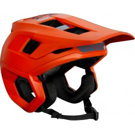 Fox Dropframe Helmet Blood Orange