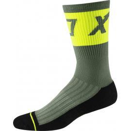Fox Racing 8' Trail Cushion Sock Print Pine 2020