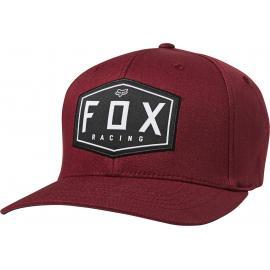 Fox Racing Crest Flexfit Hat Cranberry 2020