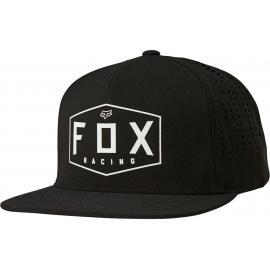 Fox Racing Crest Snapback Hat Black 2020