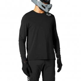 Fox Racing Defend Delta Ls Jersey Black/Black 2021