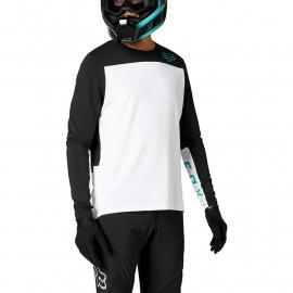 Fox Racing Defend Delta Ls Jersey White 2021