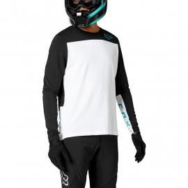 Fox Racing Defend Delta Ls Jersey White 2021
