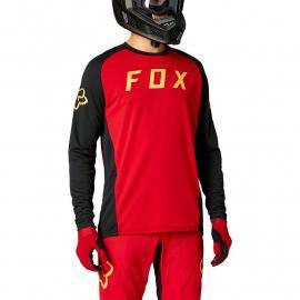 Fox Racing Defend Ls Jersey Chili 2021