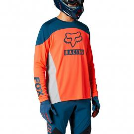 Fox Racing Defend Ls Jersey Graphic 2 Atomic Punch 2021