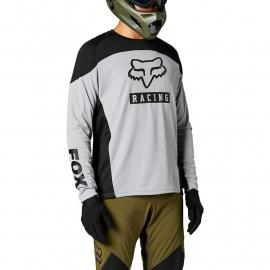 Fox Racing Defend Ls Jersey Graphic 2 Steel Grey 2021