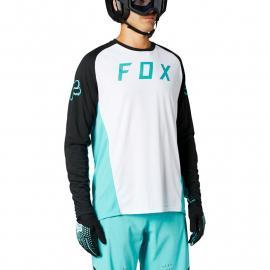 Fox Racing Defend Ls Jersey White 2021